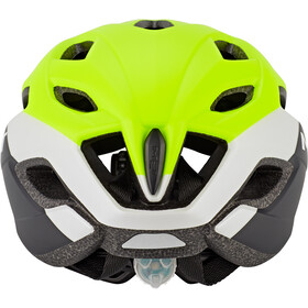 MET Crossover Fietshelm, safety yellow/white/black